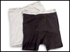 Black & Gray Boxer Briefs